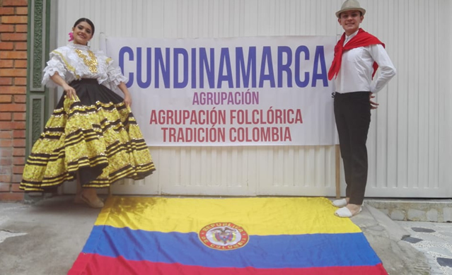 Tradición Colombiana seleccionada para participar en festival internacional virtual de danza