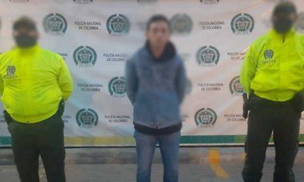 En Soacha capturan sujeto por orden judicial