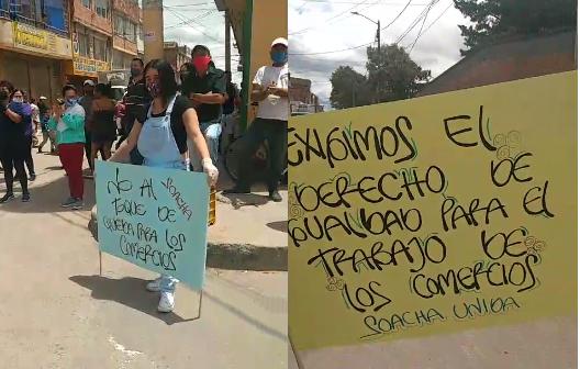 Comerciantes de Olivos  1 y 2 dicen 'No al  toque de queda' al comercio durante el fin de semana