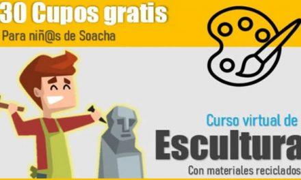 Cursos de artes plásticas para sobrellevar el confinamiento en Soacha