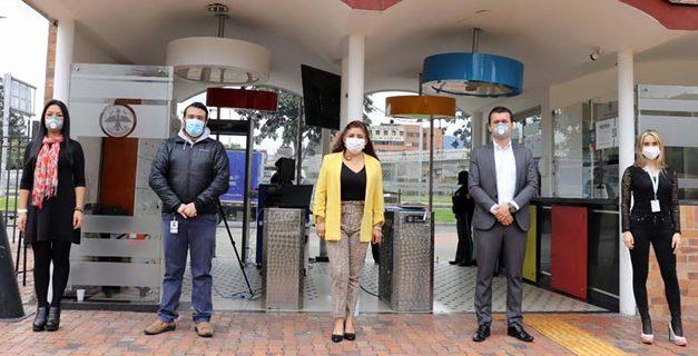 Gobernación de Cundinamarca estrena cámara de medición de temperatura
