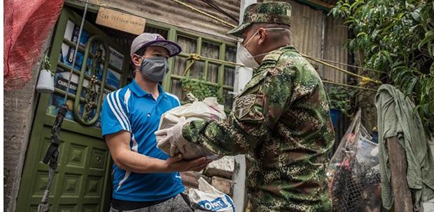 Ejército y Fundación El Nogal  se solidarizaron con  Cazuca