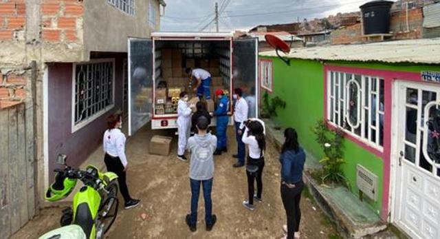 Estudiante logró recolectar 43 millones para ayudar a familias de Soacha