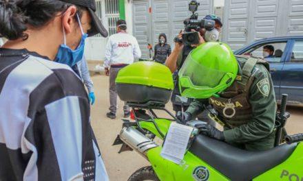 30 venezolanos y 16 colombianos sancionados en Soacha por violar toque de queda