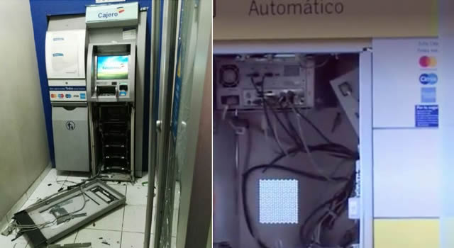 Capturados dos sujetos que robaban en los cajeros electrónicos de Bogotá