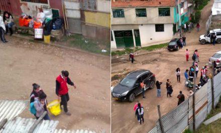 En Ciudadela Sucre sigue la tensión por nuevos brotes de invasión, nadie respeta el Toque de Queda