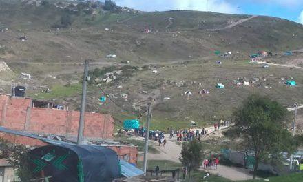 Invasores ocupan de nuevo terreno en Ciudadela Sucre Soacha