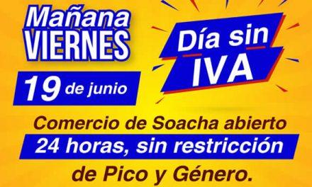Soacha lista para el Día sin IVA, comercio abrirá 24 horas
