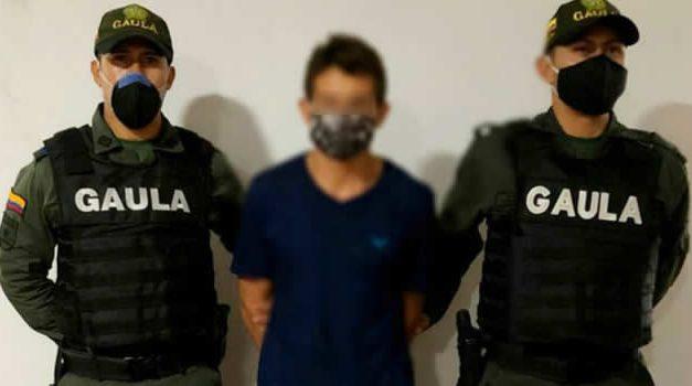 Capturan individuo  que extorsionaba a su antiguo patrón en Cundinamarca