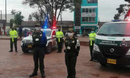 Policía Cundinamarca  presentó en Soacha   a su grupo de protección contra el trabajo infantil