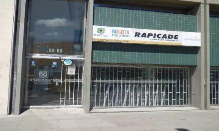 Los 20 RapiCADE que están funcionando en Bogotá