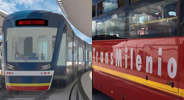 Tren para el norte, Regiotram para occidente, y ¿para Soacha?