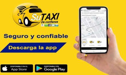 'Su taxi de confianza', la App para tomar servicio de taxi seguro  en Soacha
