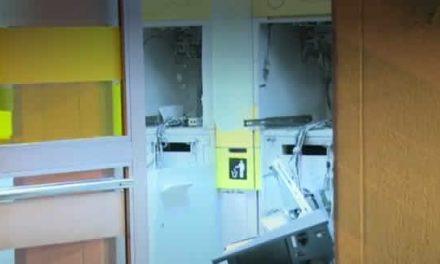 Destruyen  dos cajeros automáticos de Soacha parque