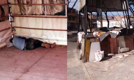 Habitantes de calle y viciosos se toman parqueadero comunal en un sector de Soacha