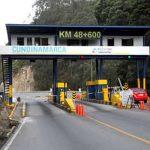 No se cobrará peaje al transporte público en El Charquito, Mondoñedo y 7 casetas más de Cundinamarca