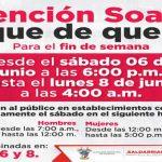Toque de Queda en Soacha inicia este sábado desde las 6:00 p.m.