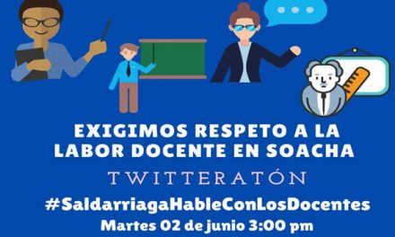 Lunes de llamado a desobediencia civil  y  anuncio de twitteratón  exigiendo mayor bienestar docente  y defensa de la educación pública