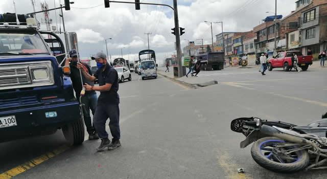 En Soacha nada que se firma el convenio con la Policía de Tránsito