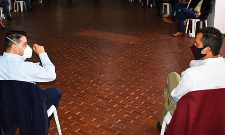 Saldarriaga habla de la visita del gobernador Nicolás García a Soacha