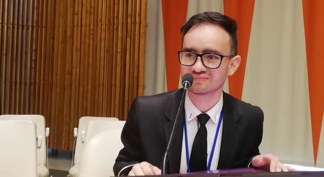 Colombiano nombrado embajador mundial de la paz es de Soacha