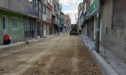 Después de cuatro meses se reactivan obras públicas en Soacha