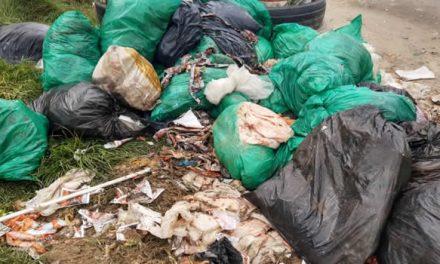Acumulación de basuras y residuos en un sector de Soacha parece no tener solución