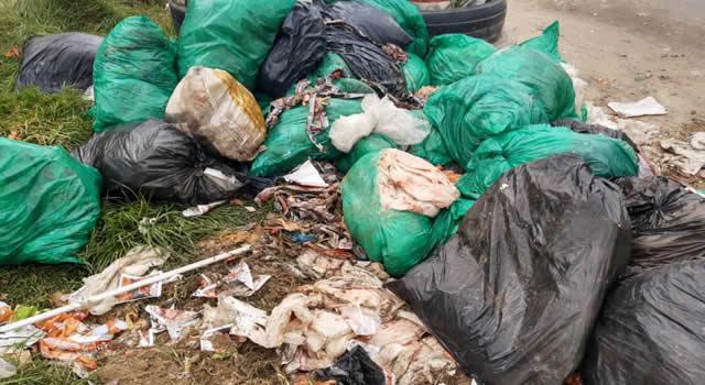 Bogotá está inundada de basura, se registra emergencia de salud pública en la ciudad