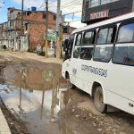 Esta calle es la opción para evadir los trancones de la autopista Sur en Soacha