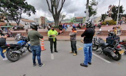 Policía lidera  campaña de prevención al hurto de vehículos y motocicletas en Soacha