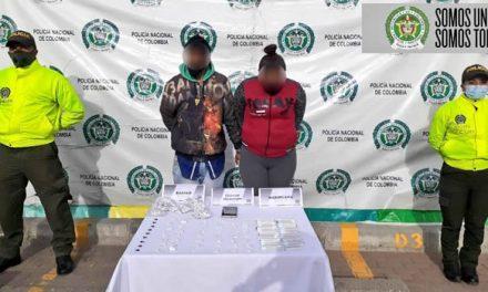 Dos capturas en Soacha por tráfico y porte de estupefacientes