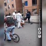Desnudo termina ladrón de bicicletas en Soacha