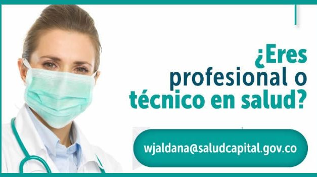 Empleo para profesionales y técnicos en salud