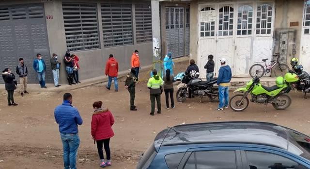 ¡Insólito! En Soacha falleció hombre en la calle y  sólo 20 horas después hicieron  el levantamiento