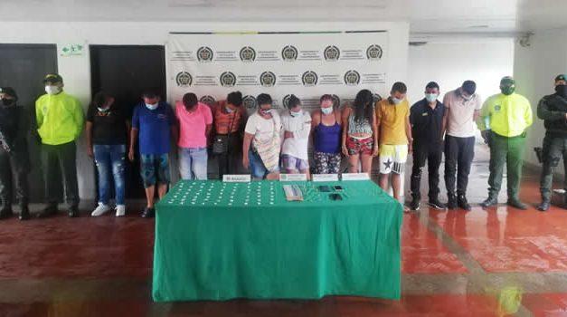 Duro golpe al microtráfico en Cundinamarca