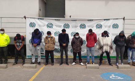 A la cárcel  'Los Ruger', estructura criminal que traficaba drogas en Sibaté y Soacha, Cundinamarca