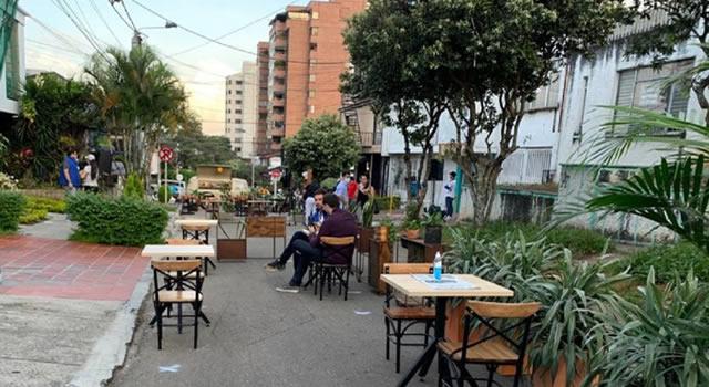 Quedó en firme piloto para restaurantes a cielo abierto en Bogotá