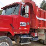 Volqueteros de Soacha cumplen medidas de bioseguridad para entregar material de construcción