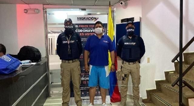 Venezolano que atacó a Policía en Tocancipá fue expulsado del país