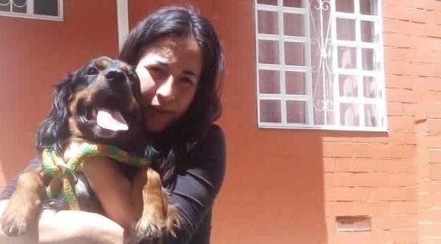 Perro abandonado en Soacha ya tiene nuevo hogar, su dueña pide ayuda para cuidarlo