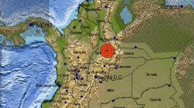 Temblor de 4,7 sacudió el centro del país