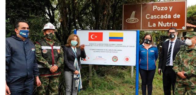 Turquía y  Ejército se unen en pro del medio ambiente municipal de Villapinzón