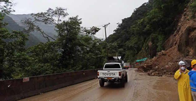 Lluvias generan nuevo cierre de vía al llano