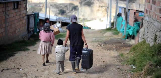 Soacha supera los 5000 casos de desplazados por el conflicto armado
