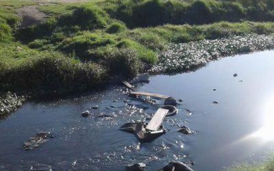 Río Claro está lleno de basuras y plagas, residentes de Soacha piden su limpieza