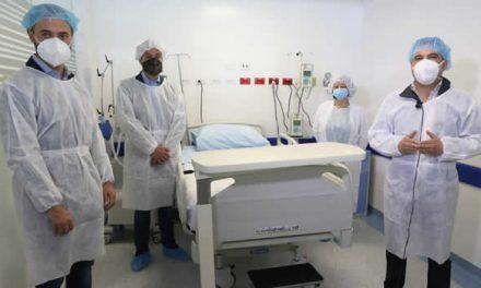 Pacientes COVID de Bogotá se atienden en Soacha