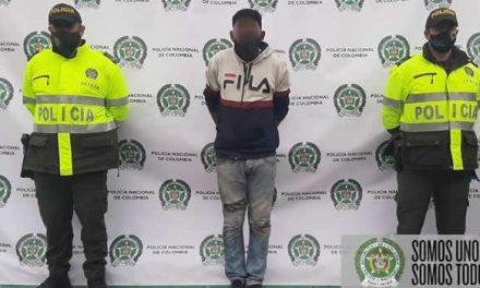 Capturan ladrón de bicicletas en Soacha