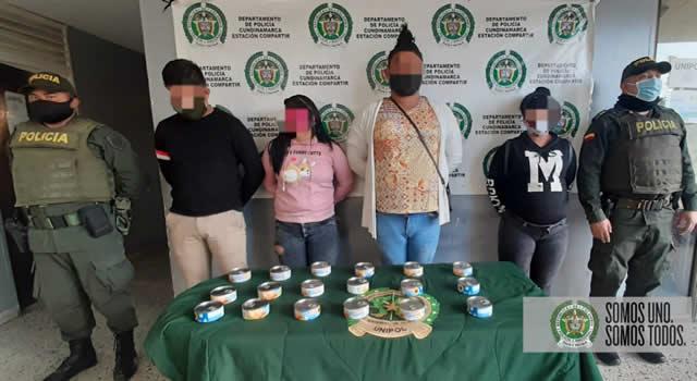 Capturan tres venezolanos y un colombiano  por hurtar elementos en supermercados de Soacha