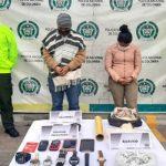 Les encontraron celulares y relojes robados en Soacha