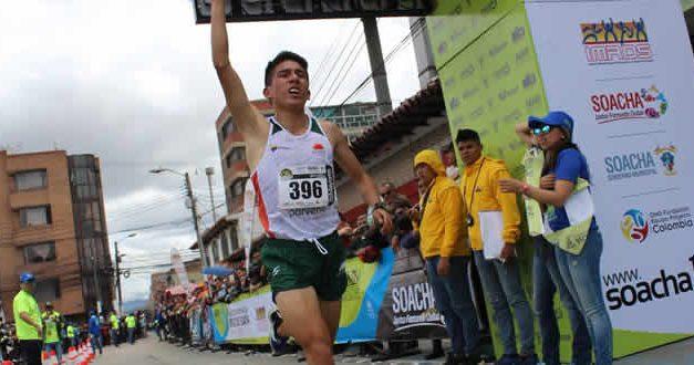 Atleta soachuno Cristian Moreno participará desde casa en la Media Maratón de Bogotá